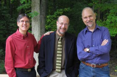 photo of Peter Torpey, Mike DeLuzio and Cy Edmunds